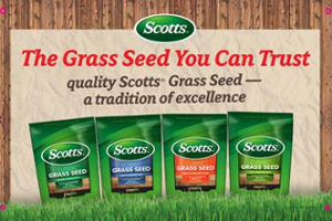 Scotts Grass Seed in Cincinnati, Maysville KY, Aberdeen, Manchester OH, Georgetown, West Union