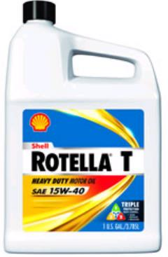 Rental store for Oil 15W 40 Shell Rotella 1gal in Aberdeen OH