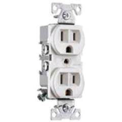 Rental store for Receptacle White Duplex 15A-125V in Aberdeen OH