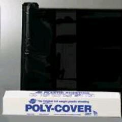 Rental store for Poly Plastic 20x100 6M Black in Aberdeen OH