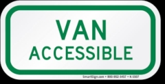 Rental store for Sign Van Accessible Green in Aberdeen OH