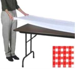 Rental store for Fitted Table Cover 30 x96  Red White in Aberdeen OH