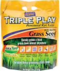 Rental store for Grass Seed Rye Triple Play 7lb. in Aberdeen OH