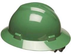 Rental store for Hard Hat Full Brim Green in Aberdeen OH