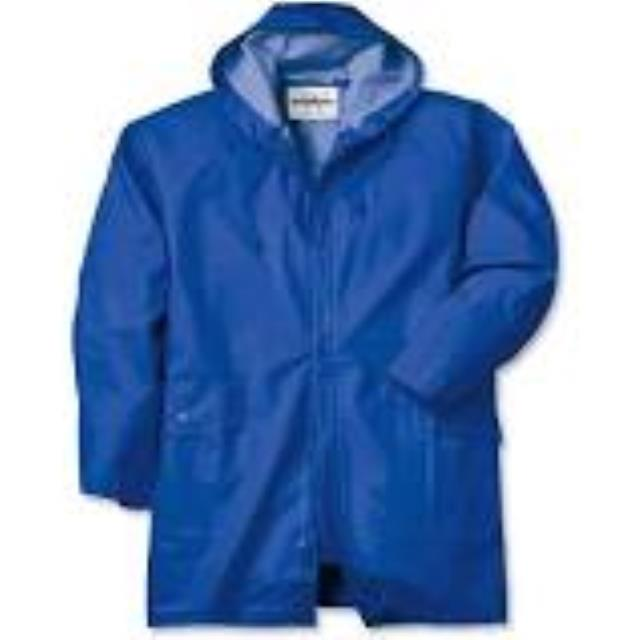 Where to find Rain Parka XL Blue in Aberdeen