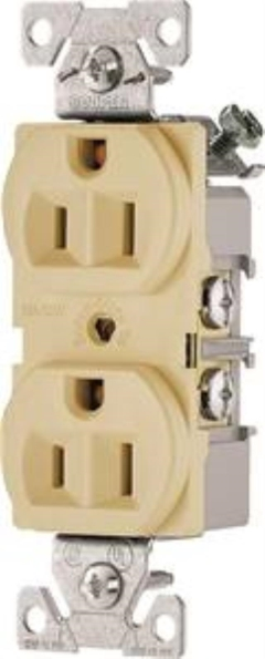 Rental store for Receptacle Ivory Duplex 15amp in Aberdeen OH