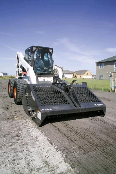 LANDSCAPE RAKE ATTACHMENT 72 INCH BOBCAT Sales Aberdeen OH