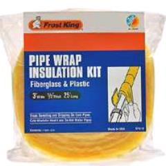 Rental store for Pipe Wrap Insulation Kit 3 x1 2 x25 in Aberdeen OH