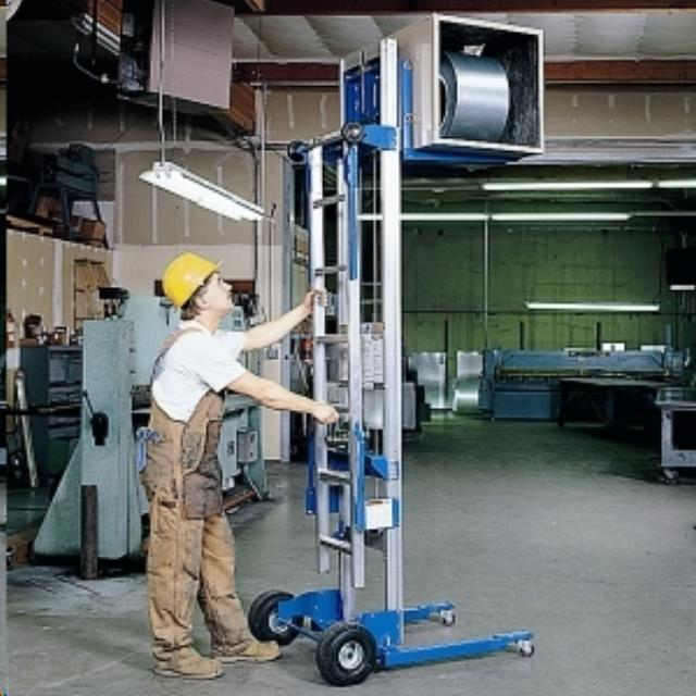 Material lift 11 foot hand crank rentals Aberdeen OH | Where to rent