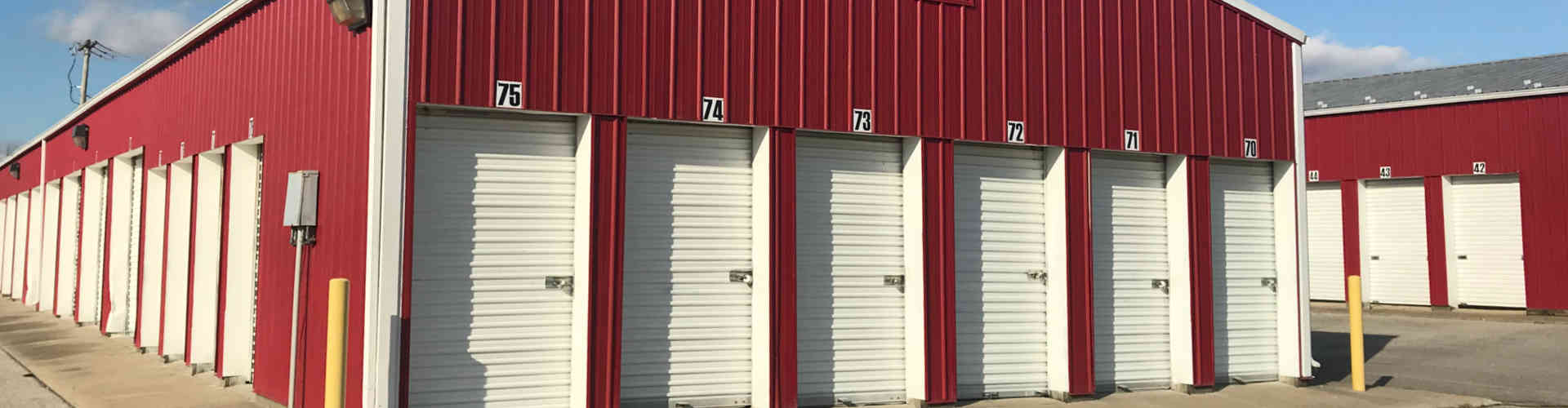 Self storage rentals in Cincinnati, Maysville KY, Aberdeen, Manchester OH, Georgetown, West Union